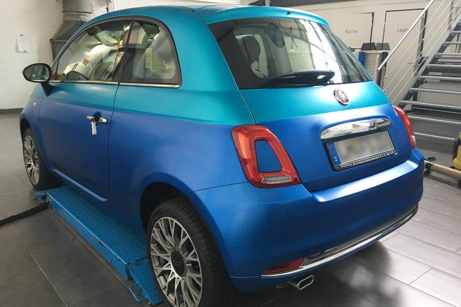 Fiat-500-Bi-Color-Autofolierung