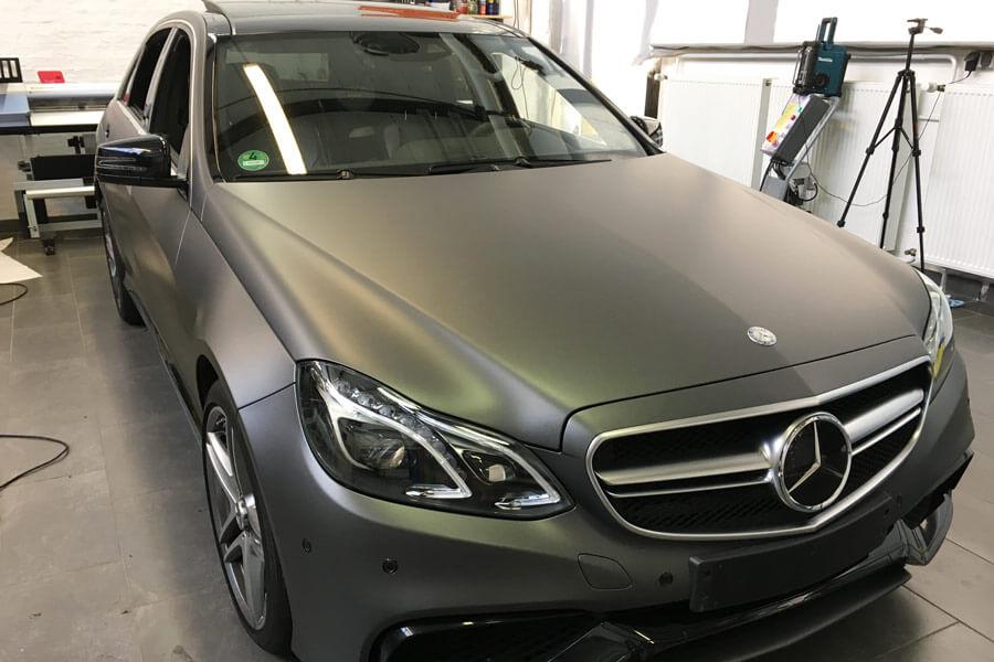 Mercedes-C63-AMG-Autofolierung