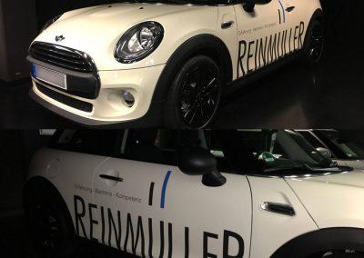 Werbebeschriftung-BMW-MINI-Frankfurt