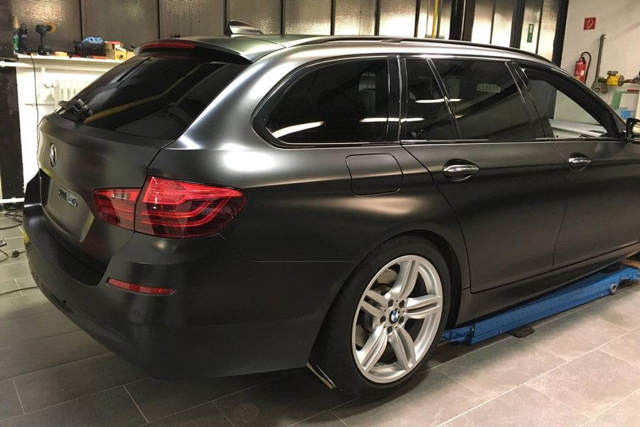 BMW 530d Scheibentönung