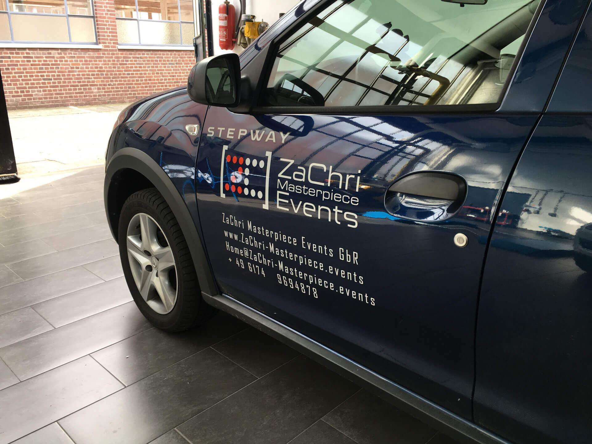 Folienpartner-Fahrzeugbeschriftung