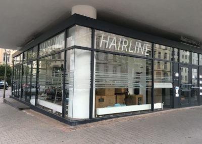 Schaufensterbeschriftung-Frankfurt-Hairline
